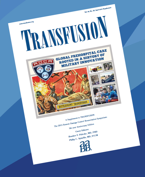 TRANSFUSION 2016 Supplement