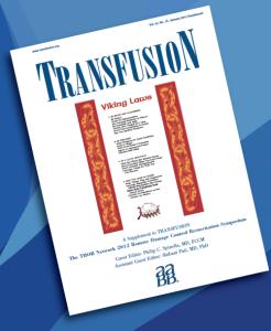 TRANSFUSION Supplement